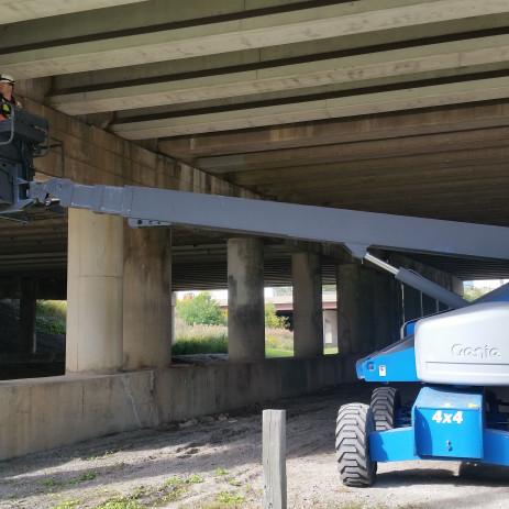 Illinois Bridge Deck Condition Surveys