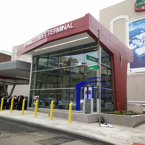 Improvements to Downtown Transit Terminals