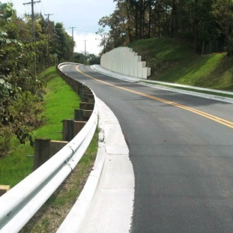 Stygler Road Widening and Slope Remediation