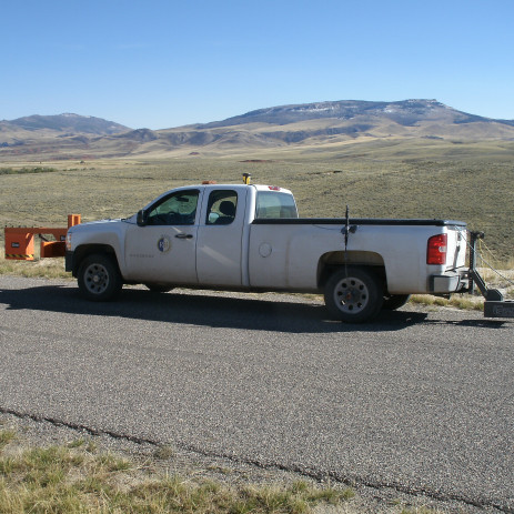 Wyoming GPR Survey of County Roads